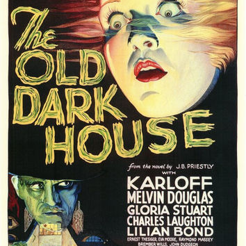 The Old Dark House 11x17 Movie Poster (1932)