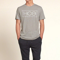 Classic Fit Logo Graphic Tee