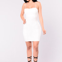 Vivid Blossom Dress - Off White