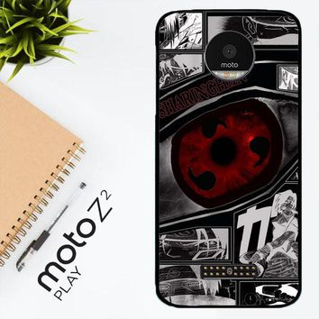 Anime Naruto Sharingan X4954 Motorola Moto Z2 Play Case