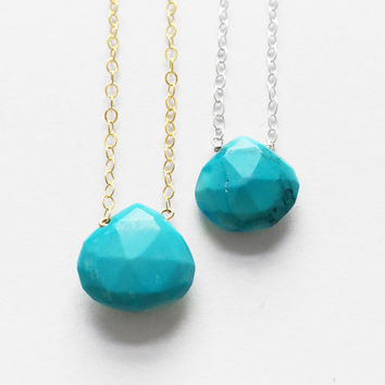 Holiday Solitaire Special - Turquoise Drop