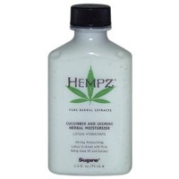 Hempz Herbal Moisturizer 2.5 oz TRAVEL SIZE!: Beauty