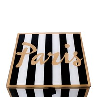 Paris Square Jewelry Box