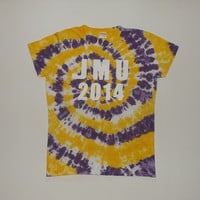 Custom Tie Dye T-Shirt w/ Text - Choose Any Text, Colors, & Size (Adult, Youth, and Toddler)