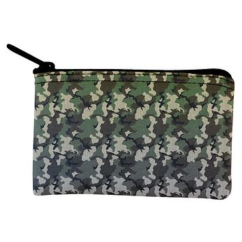 Faded Camo Coin Purse