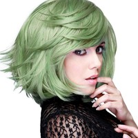 Hologram Dark Mint Mix | WIGS [12 INCH]