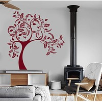 Wall Vinyl Decal Tree Branch Nature Cool Bedroom Decor Unique Gift z3943