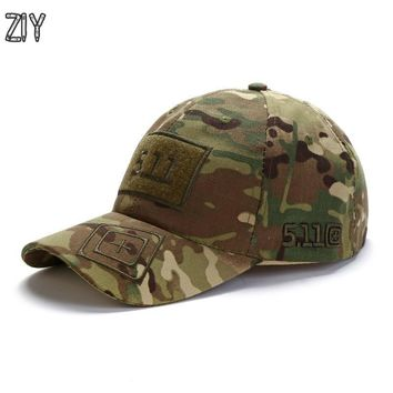 Trendy Winter Jacket Camouflage baseball cap unisex 511 tactical army outdoor quick dry done snapback camo fishing hiking casual trucker dad cap hat AT_92_12
