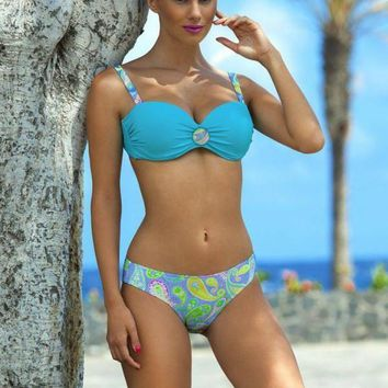 bikini high waist swimsuit push up bikini swimming suit