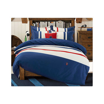Cotton Concise Flag Warm Duvet Quilt Cover Sets Bedding Cover Sets 003