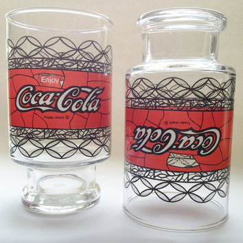 Vintage Coca-Cola  Extra Large Coke Glasses