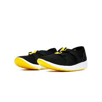 qiyif Nike AIR SOCK RACER OG - Black/Tour Yellow-White