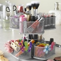 Nifty Cosmetic Organizing Carousel, Black:Amazon:Beauty