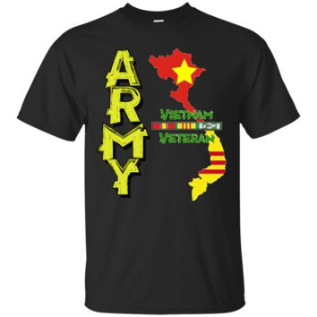 United States Army GOLD vietnam Veteran: Gildan Ultra Cotton T-Shirt