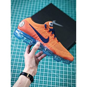 Nike Lab Air Vapormax Flyknit 2.0 Dragonball Id Customized Aa3858-102 Sport Running Shoes - Sale