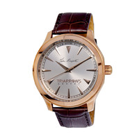Triarrows TGY01 Classic Watch Rose Gold and Silver White Dial