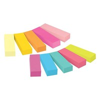 Post-it® Page Markers, Assorted Colors, 1/2