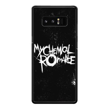 My Chemical Romance Black White Logo Samsung Galaxy Note 8 Case