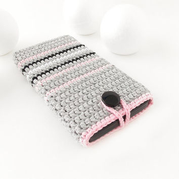 Pink rug iPhone 7 cozy, Grey Samsung Galaxy A3 case, Google Pixel phone cover, vegan Huawei P9 sock, Lenovo K6 pouch, eco Xperia XZ sleeve