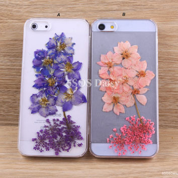 Pressed Flower swallows iPhone 5 case, iPhone 4 case, iPhone 4s case, iPhone 5s case, iPhone 5c case, Galaxy S4 S5 Note 3 - 01033