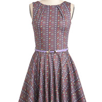 Luck Be a Lady Dress in Dots | Mod Retro Vintage Dresses | ModCloth.com