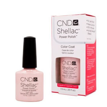 CND Shellac Spring Sweet Dreams Collection GRAPEFRUIT SPARKLE Gel UV Nail Polish
