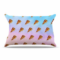 "Juan Paolo ""Lucid Pizza"" Food Pattern Pillow Case"