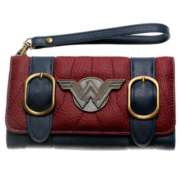 DC Comics Wonder Woman Trifold Wallet