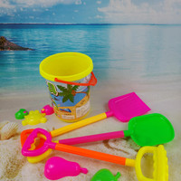 On Sale Home Kitchen Helper Hot Deal Easy Tools Children Toy Beach Kids Tools Spoon [10261287436]