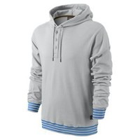 Nike Store. Nike Repeater Henley Men's Pullover Hoodie