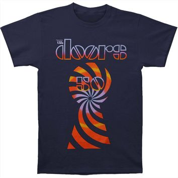 Doors Men's  Trip 50th Tee T-shirt Blue