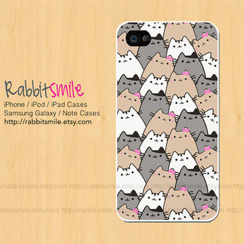 Lttile Cat iPhone 5 Case, iPhone 4 case, Because Cats iPhone 4s Cover , Hard Plastic iphone 5 Cover, cases