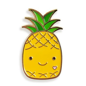 Pin Pals - Happy Pineapple
