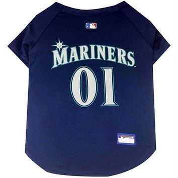Seattle Mariners Pet Jersey