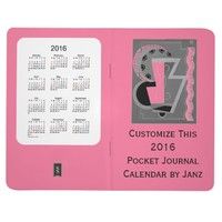 2016 Pale Violet Pocket Journal Calendar by Janz
