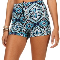 Sale-aztec Print High Waist Short