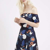 Limited Edition Raffia Embroidered Bardot Dress - New In This Week - New In