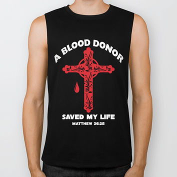 A Blood Donor Saved My Life T-shirts Biker Tank by jerrykienvu