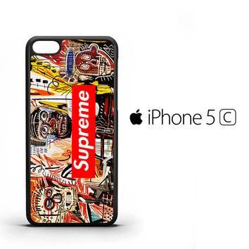 supreme to release collection featuring basquiats V1635 iPhone 5C Case
