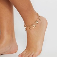 Good as Gold Dainty Anklet