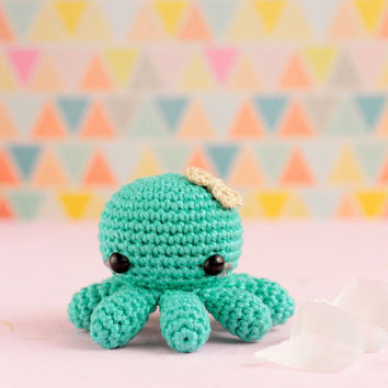 Amigurumi octopus crochet, Octopus stuffed animal doll, Kawaii crochet plush octopus, Mini crochet amigurumi kawaii octopus, Stuffed octopus