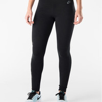 Women's Nike Leg-A-See Logo Shine Leggings