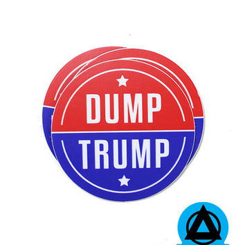 Dump Trump Sticker (Set of 3)