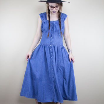Super Denim Vintage Dress