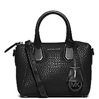 MICHAEL MICHAEL KORS - Campbell Small Leather Top Handle Bag - Saks Fifth Avenue Mobile