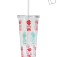 Aeropostale  LLD Pineapple Tumbler - Clear, One
