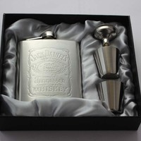 Portable Stainless Steel Hip Flask set 7oz Embossed Flagon Flasks russian Wine beer Whiskey Bottle Pocket 016 001L-in Hip Flasks from Home, Kitchen & Garden on Aliexpress.com | Alibaba Group
