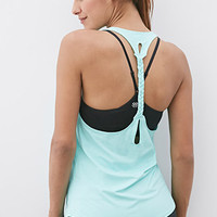 Braided Racerback Athletic Tank
