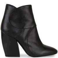 Pierre Hardy - Stitched Leather Booties (Black)