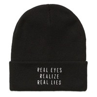Real Eyes Beanie